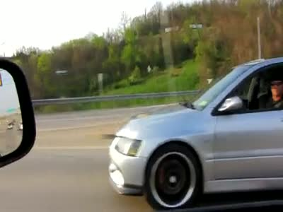 Awesome Mitsubishi EVO Acceleration