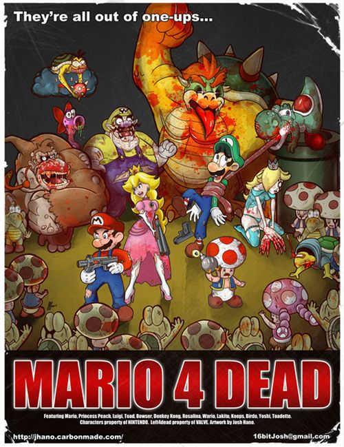 Video Game Crossovers (26 pics)