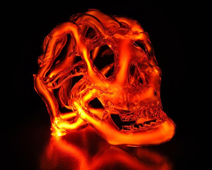 Neon Skulls Lights (9 pics)