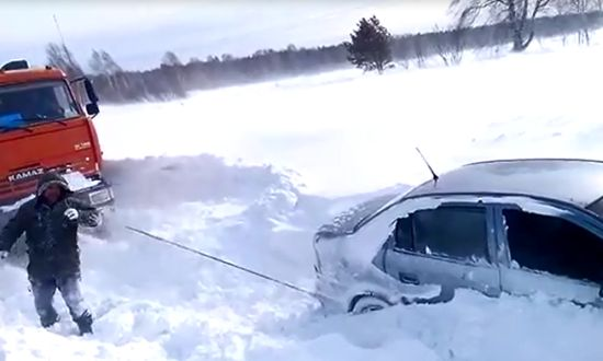 Meanwhile on Russian Roads
