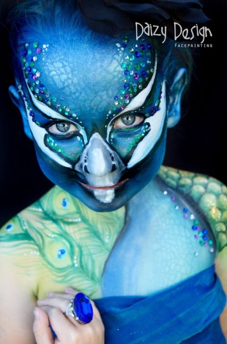 Face Painting by Daizy Design (58 pics)
