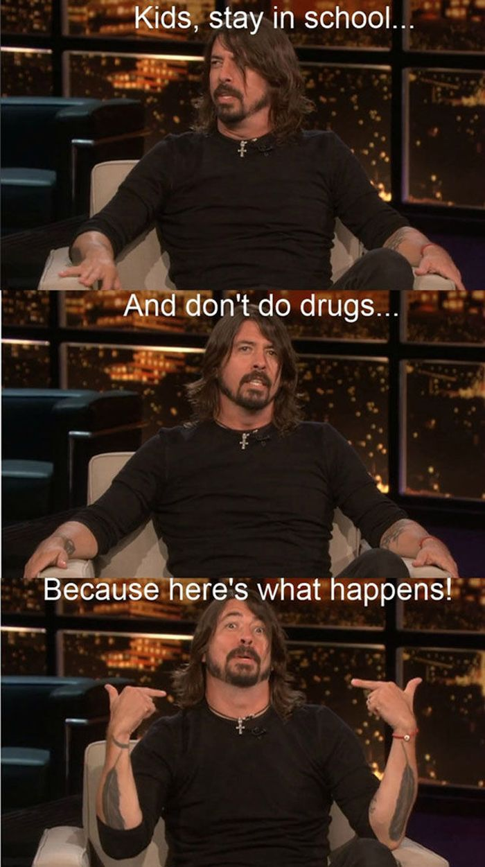 Dave Grohl is Truly Awesome (20 pics + video)