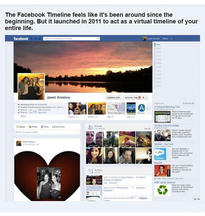 Facebook Evolution (12 pics)