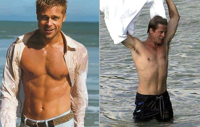 Shirtless Hunks From the '90s Then & Now (24 pics)