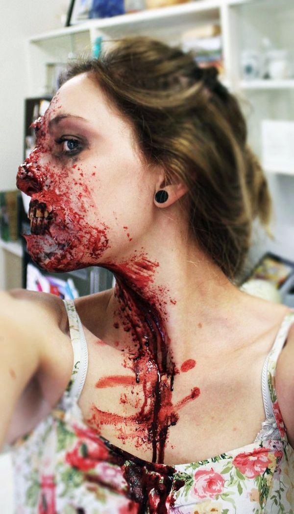 Scary Oz Comic-Con Zombie Makeup (10 pics)