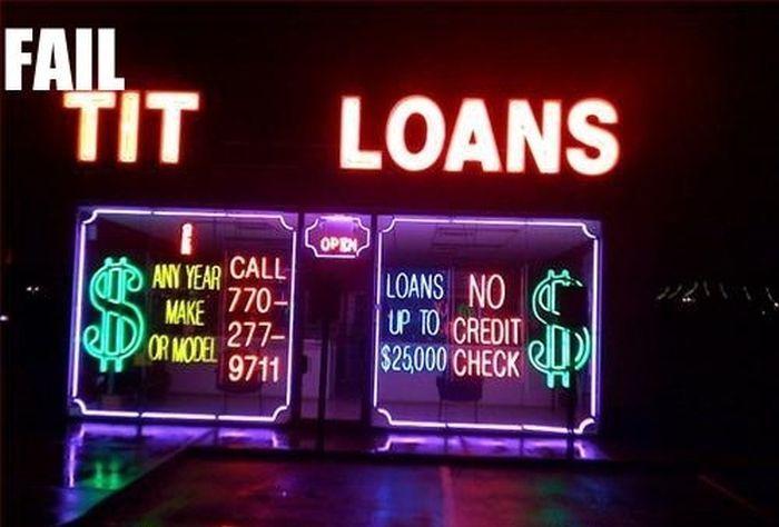 Neon Sign Fails (35 pics)