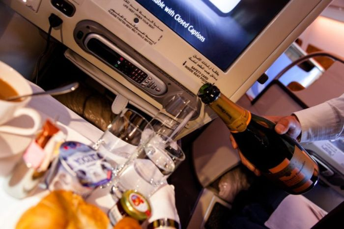 Business Class on Emirates Air (16 pics)