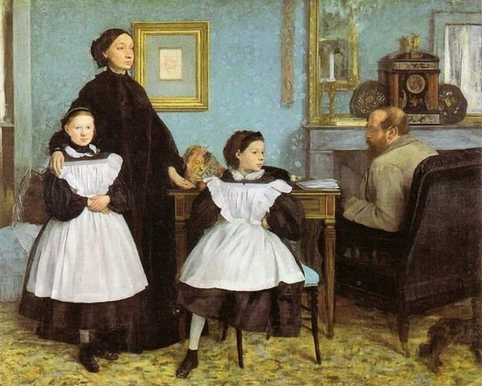 The First Paintings of Famous Artists (14 pics)
