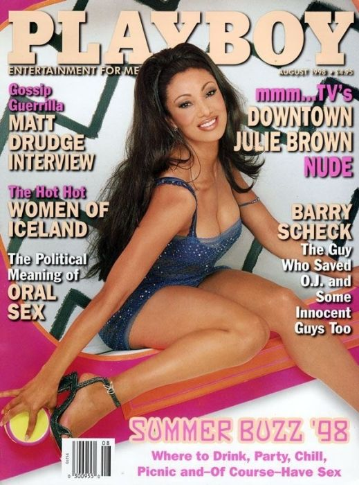 Unexpected Celebrities Appearing in Playboy (25 pics)