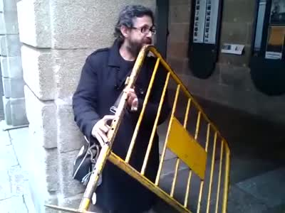 Strange Handmade Flute