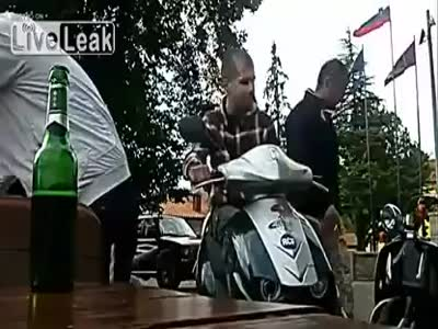 Stupid Scooter Fail