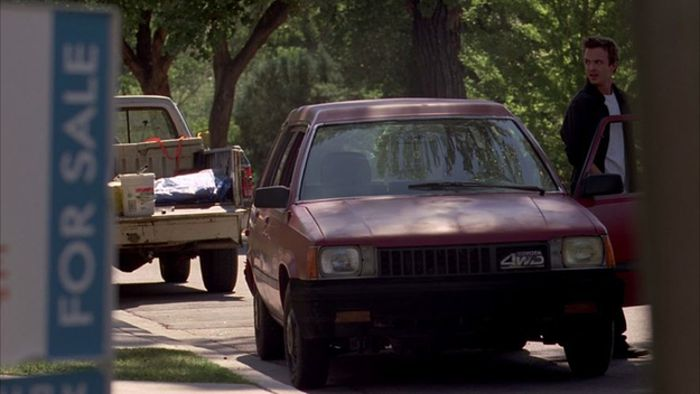 "Jesse Pinkman's Car From ""Breaking Bad"" (3 pics)"
