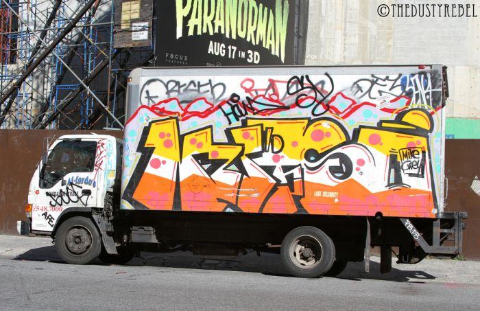 Graffiti Vans And Trucks (28 pics)