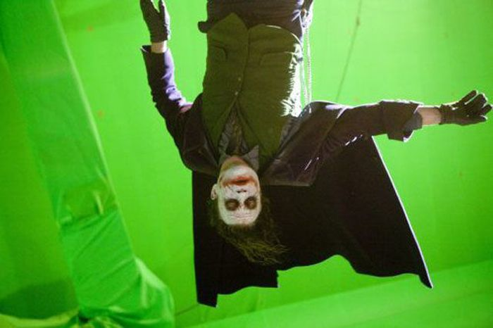"Heath Ledger: ""The Dark Knight"" detrás de escena (50 Im"