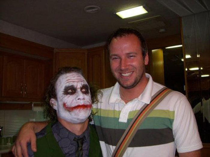 "Heath Ledger on the Set of ""The Dark Knight"" (50 pics)"
