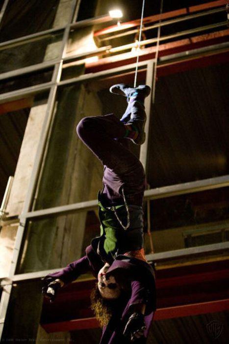 "Heath Ledger on the Set of ""The Dark Knight"" (50 pics)"