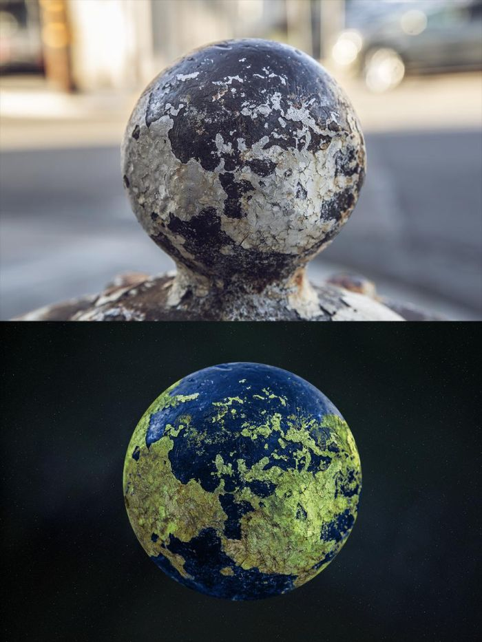 Rusty Fire Hydrant Planets (12 pics)