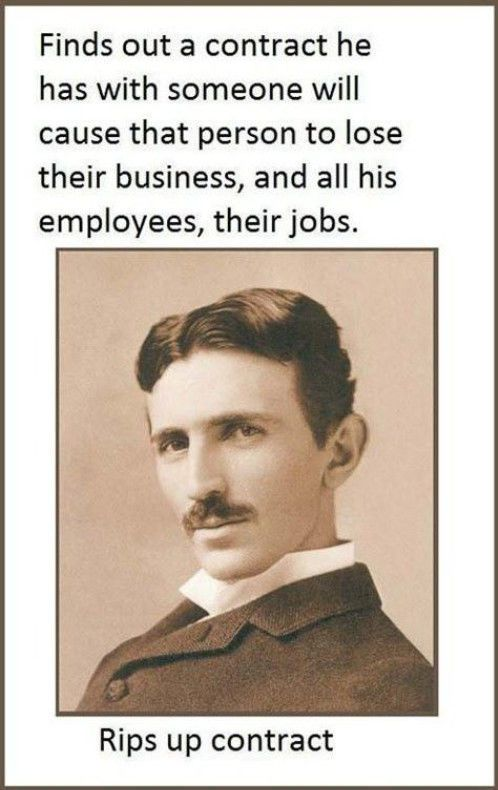 Facts about Nikola Tesla (6 pics)