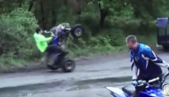 Great Quad Fails and WINs Compilation
