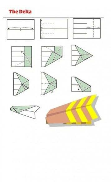 Paper Airplane Designs (12 pics)