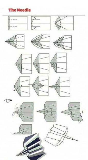 Paper Airplane Designs (12 pics)