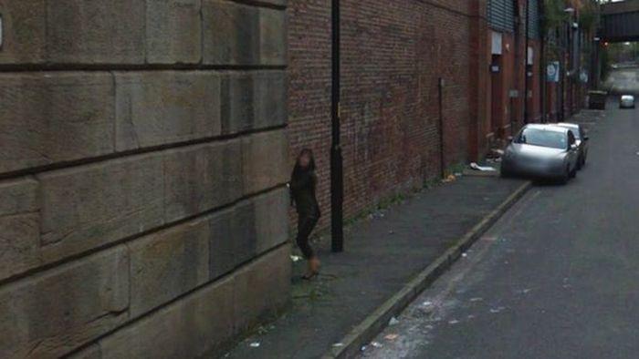 Google Street Handjob (5 pics)