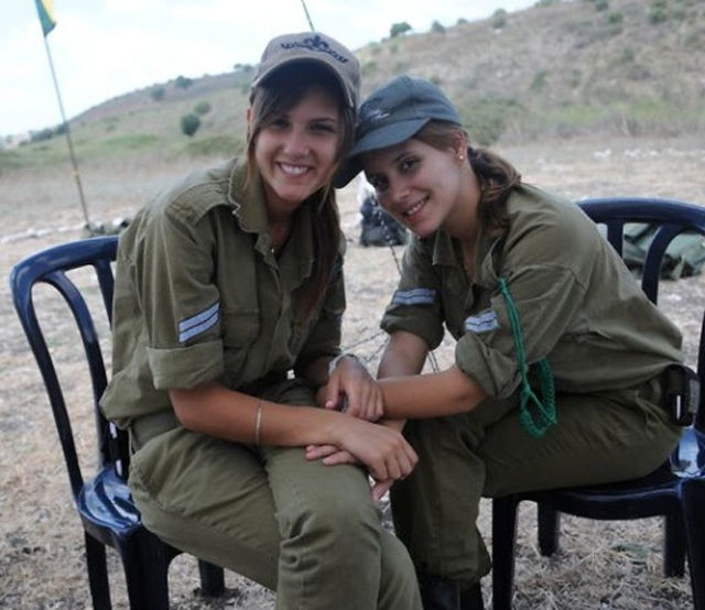 Girls of Israel Army Forces. Part 5 (70 pics)