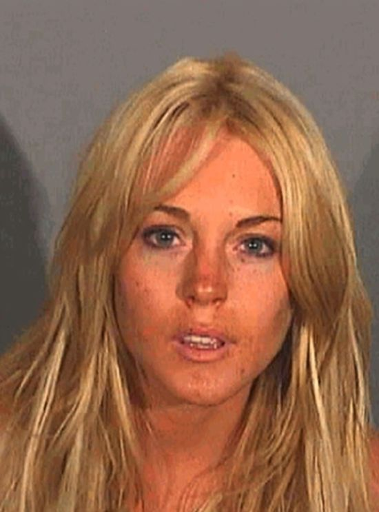 The Evolution of Lindsay Lohan's Mugshots (6 pics)