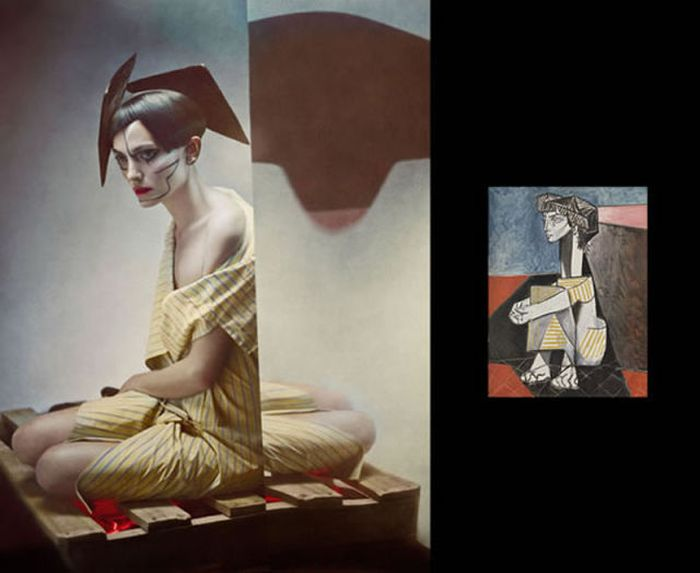 Picasso's Women in Real Life (8 pics)