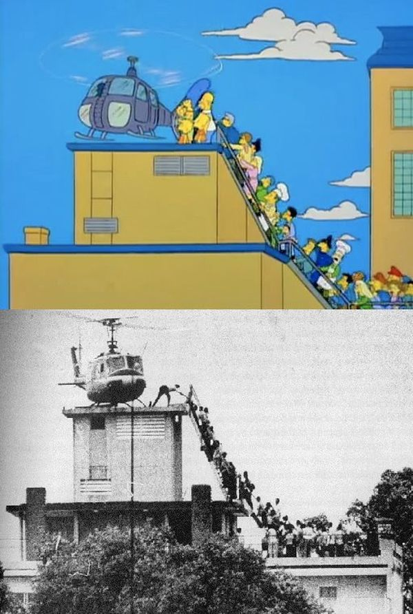 The Simpsons vs Real Life (12 pics)
