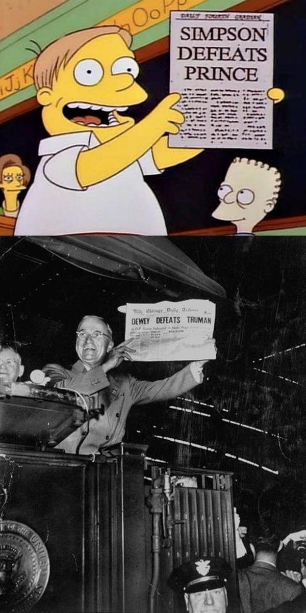 The Simpsons vs Real Life (12 pics)