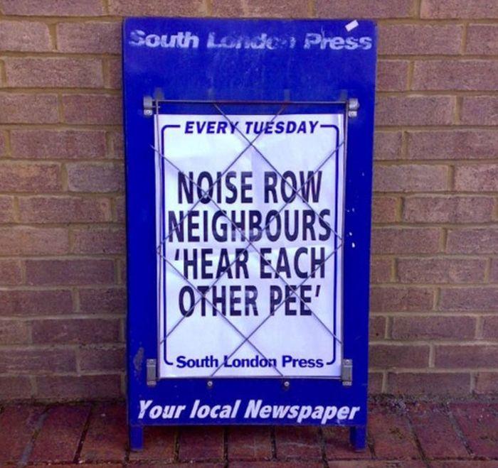 Very Important Local News Headlines (47 pics)