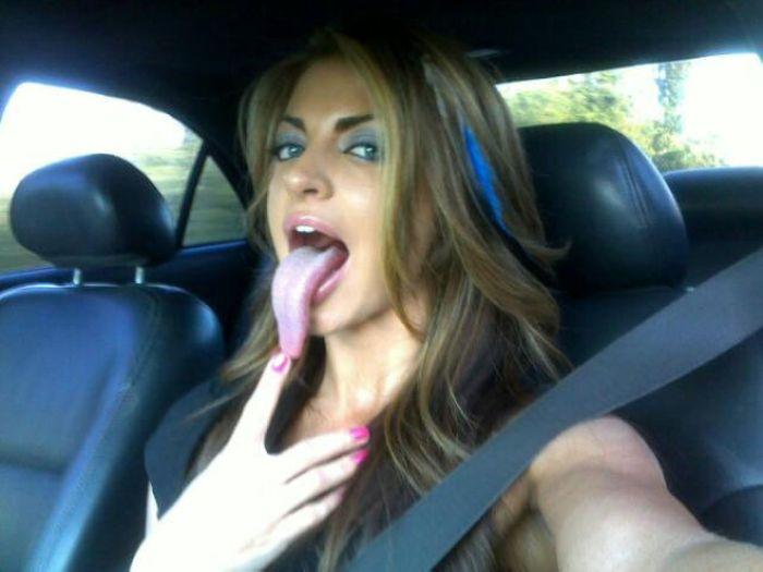 Tongue Tracy (31 pics)