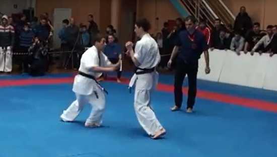 Amazing Karate Winning Kick