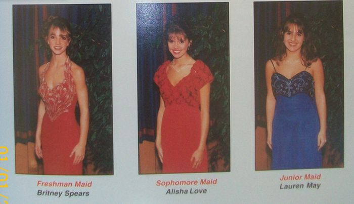 Britney Spears' 1997 High School Yearbook (6 pics)