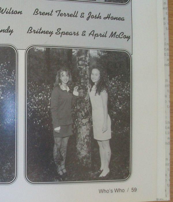 Britney Spears' 1997 High School Yearbook (6 pics)