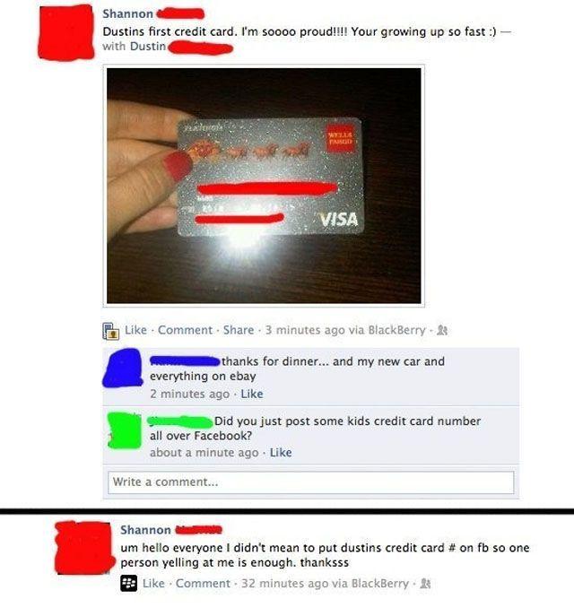 Stupid Posts on Facebook. Part 2 (22 pics)