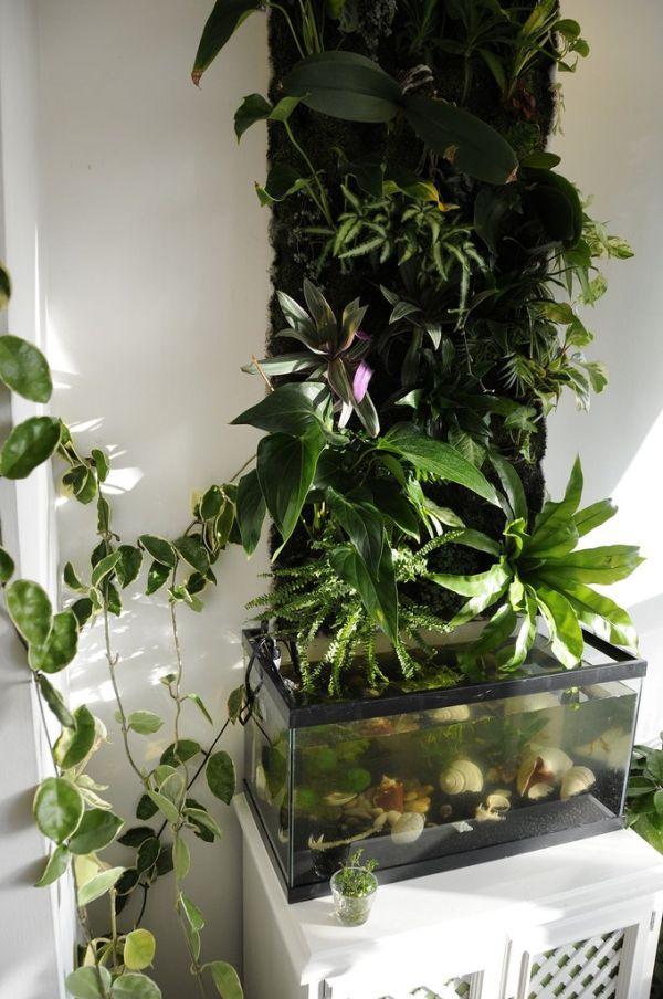 DIY Green Wall (19 pics)