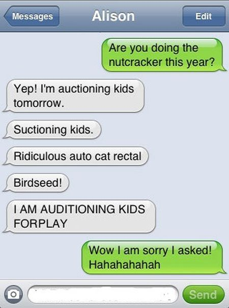 Autocorrects Fails. Part 6 (30 pics)