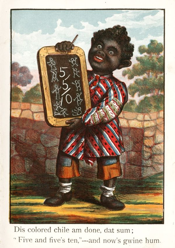 Racist Book from the 19th Century (7 pics)