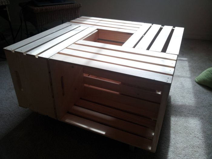 DIY Coffee Table (18 pics)