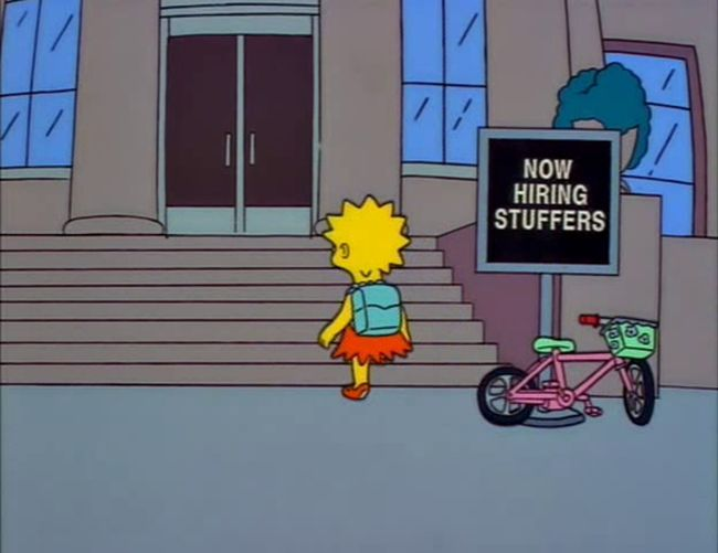Funny Signs From The Simpsons. Part 3 (40 pics)