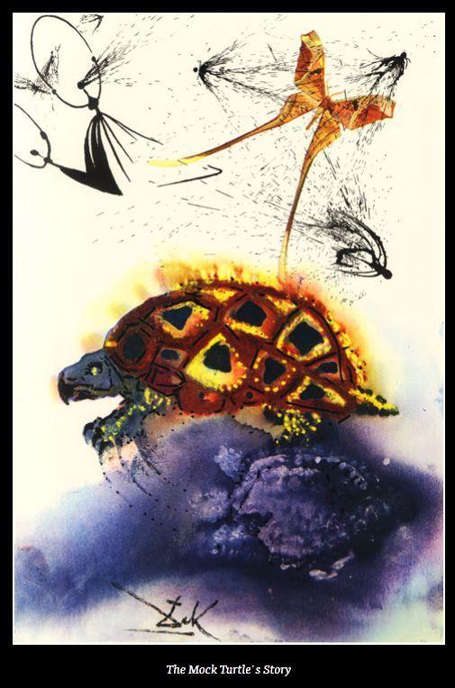 Alice in Wonderland by Salvador Dalí, 1969 (13 pics)