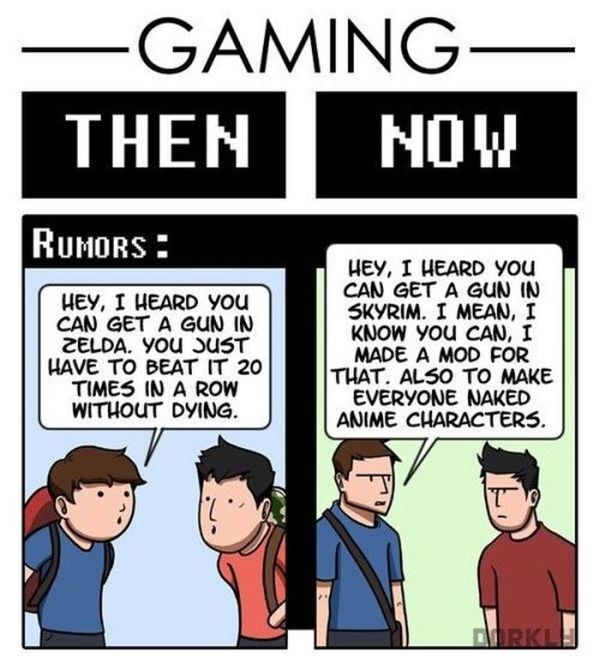 Gaming Then and Now (6 pics)