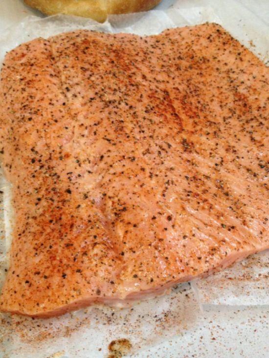 Salmon Shooter Sandwich (16 pics)