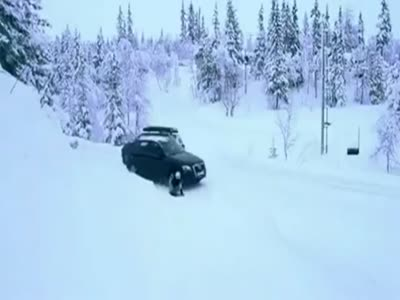 The Luckiest Sledding WIN Ever