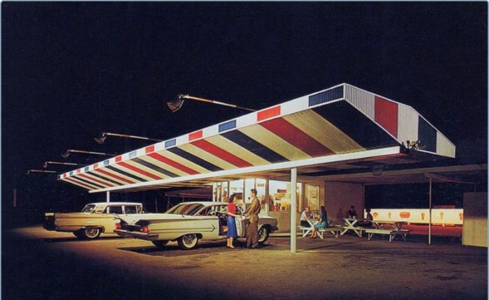 USA in the '50s and '60s (33 pics)