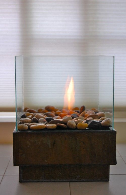 DIY Personal Fire Pit (27 pics)