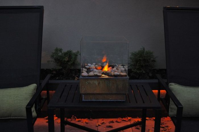 DIY Personal Fire Pit (27 pics)