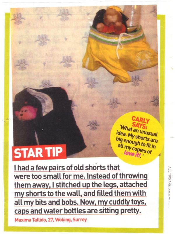 Useless Tips from Women's Magazines (25 pics)